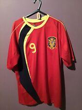 España 2009-2010 Camiseta Talla L #9 F. Torres