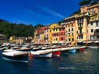 """PORTOFINO ITALY COLORFUL BOATS Photo Picture Print 4X6 5X7 8X10 8.5X11/"""""""