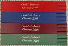 Personalised Leather Bookmarks Christmas Gift/Keepsake and all occasions