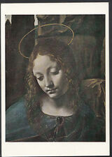 National Gallery Postcard - Leonardo Da Vinci - The Virgin of The Rocks   B2562