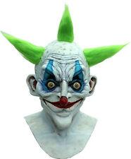 BRAND NEW Insane Grandpa Circus Freak DELUXE ADULT LATEX OLD CLOWN MONSTER MASK