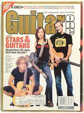 STARS GUITAR ONE MAGAZINE ANDY DICK KEVIN BACON CHEECH AND CHONG DECEMBER 2002!
