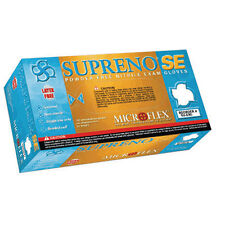 Microflex SU-690M Supreno SE Powder Free Nitrile Gloves - Medium, 10 Boxes
