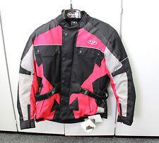 Lagerverkauf NEU SOAR Motorradjacke rot schwarz Größe M