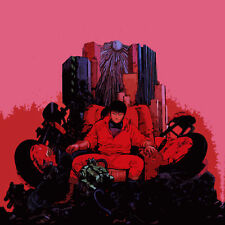 Akira Anime Popart Oil Painting 28x28 inches in size