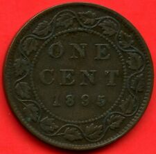 1895 Canada 1 Cent Coin