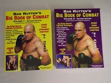 Bas Ruttens Big Book of Combat Volume 1 and 2 Stephen Quadros new