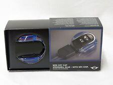 OEM Mini Cooper Speedwell Blue Key Fob Cap With NFC Chip 82292353328