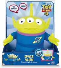 """NEW TOY STORY 4 SPACE ALIEN TALKS WITH LIGHT-UP ANTENNA 10.5"""""""