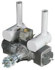 DLE Engines DLE-170cc Twin Gas Engine w/Elec Ig & Muffs DLE-170