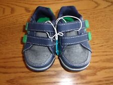 Stride Rite Surprize Toddler Boys Memory Foam Sneakers Navy Size 6 NWT