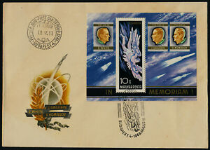 Hungary C275 on FDC - Icarus Falling, Astronauts