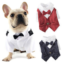 Dog Formal Suit Pet Clothes Puppy Costume Dogs Cats Tuxedo Gentleman Suits Gift