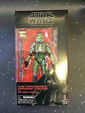 2019 Star Wars Black Series 6 inch Clone Commander Gree Exclusive NON MINT