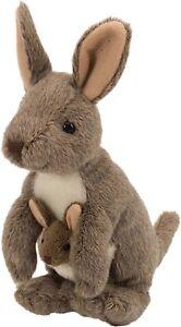 "Cuddlekins 8 Standing Kangaroo & Baby Joey 12"" w/tail by Wild Republic WR10867"
