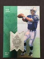 1998 SPx Finite #311 Peyton Manning rookie.