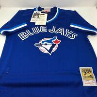 New Joe Carter Toronto Blue Jays Batting Practise Mitchell & Ness MLB Jersey XL