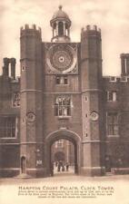 LONDON, UK England    HAMPTON COURT PALACE~Clock Tower    c1910's Postcard
