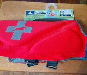 NEW Top Paw Red Life Jacket Size X-Large (XL): Dogs 85-100 lbs NWT