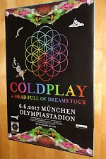 Coldplay Tourplakat/Tourposter 2017 - Olympiastadion München 06.06.2017