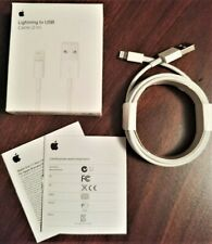 NEW Original Apple Lightning iPhone Cable 6ft 2m Charging OEM Cord USB Authentic