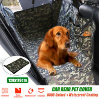 600D Pet Car Seat Cover Dog Safety Protector Mat Rear Back Seat Hammock