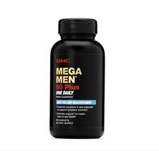 GNC Mega Men 50 Plus 60 Caplets  Free Shipping Brand New