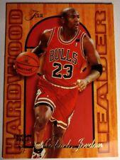 Michael Jordan Insert, 1995-96 Fleer Flair Hardwood Leader #4, Sharp Card!
