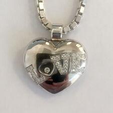 Chopard Happy Diamond Love Heart Pendant & Venetian Chain