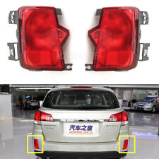 Pair Rear Bumper Reflector Light Fog Lamp Fit For Subaru Outback 2010-2014 ZW019