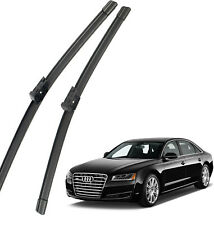New Set OEM Front Windshield Wiper Blades 4H1998002B For 2011-2018 Audi A8 S8 4H