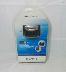 Sony SRF-M37W Walkman Digital Tuning Weather/FM/AM Stereo Radio - Black