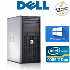 Desktop PC Dell Intel Core 2 Duo con hard disk da 500GB