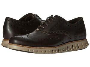 Men's Shoes Cole Haan ZEROGRAND WING Oxfords Leather C25273 JAVA COBBLESTONE