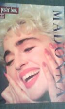 Madonna poster book - 12 Tear out posters 80s who's that girl RARE