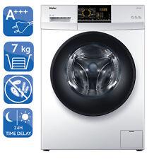 Waschmaschine Frontlader A+++ Haier HW70-14829 Startzeitvorwahl Schontrommel