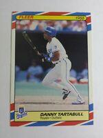 DANNY TARTABULL 1988 FLEER SUPERSTARS BASEBALL CARD # 40 C3745