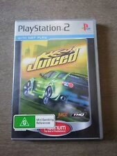 Ps2 Juiced case and manual { NO DISC}
