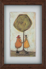 Sam Toft - Tree of Wishes - 40 x 60cm framed shadow floating parchment print