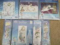 DMC The Snowman and The Snowdog Cross Stitch Kit - Choice of Designs