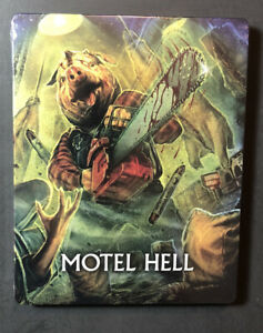 Motel Hell [ Limited Edition STEELBOOK ] (Blu-ray Dsic) NEW