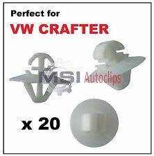 20 X VW VOLKSWAGEN CRAFTER Lato esterno stampaggio porta clip pannello di plastica Trim