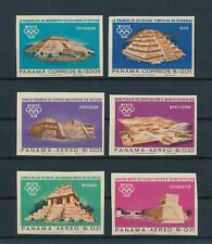 [103462] Panama 1967 Olympic Games Mexico 1968 Imperf. set MNH
