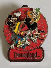 Disneyland Resort DLR 2012 Fab Four Spinner Pin Minnie Mickey Goofy Donald