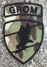 GROM Special Forces Multicam camo Klettabzeichen Klett patch Abzeichen