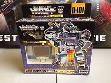 G1 Generation 1 Transformers Takara MIB D-101 Soundblaster Soundwave Unused New