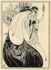 Aubrey Beardsley Peacock A4 Print