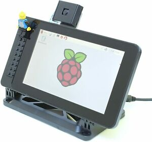 Smarti Pi Touch Adjustable Angle Case For The Official Raspberry Pi