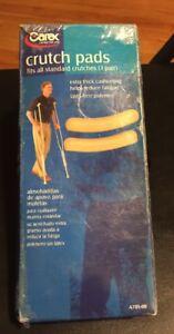 Carex Crutch Pads A701-00 2 Each  New