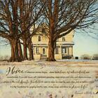 Home by Bonnie Mohr Inspirational Poster Print 12x12